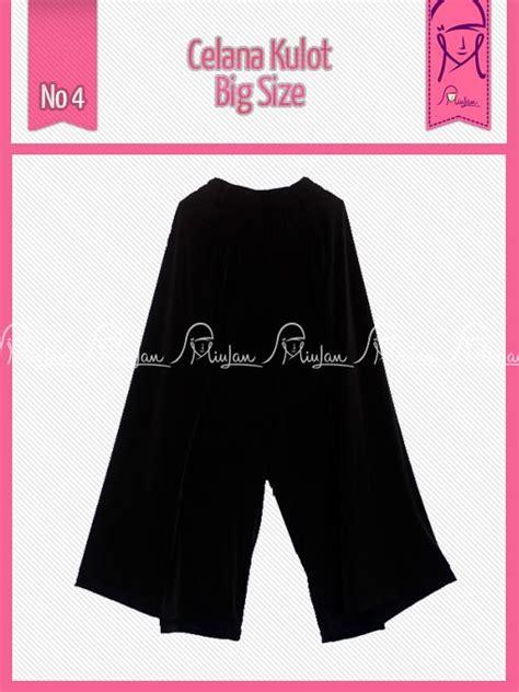 Dress Pesta Hitam Bigsize kulot bigsize hitam baju muslim gamis modern