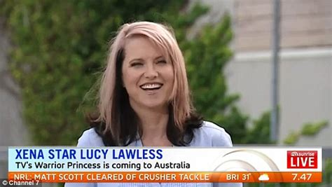 lucy lawless how old is she lucy lawless talks about her role as xena during tv
