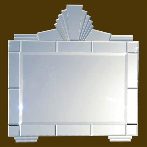 art deco bathroom mirror frameless wall mirrors art deco mirrors bathroom mirrors