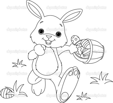 coloring pages for easter bunny easter bunny coloring pages only coloring pages