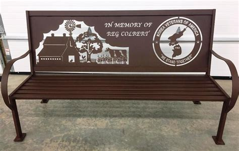 personalized park bench bench design glamorous metal memorial benches metal