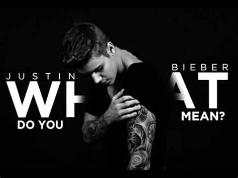 justin bieber what do you mean mp3 youtube