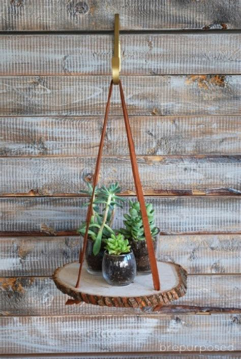 simple ways     diy plant stands