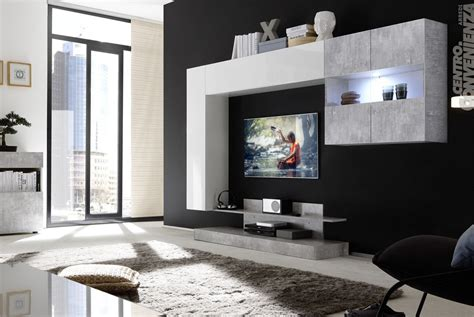 colore parete soggiorno adriano parete soggiorno moderna colore cemento e