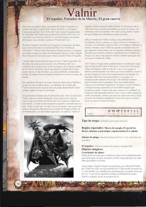 descargar libro el senor del caos en linea warhammer 8 5 libro guerreros del caos