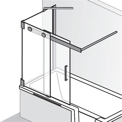 Duschkabinen Auf Badewanne by Duschkabinen Seitenwand Auf Badewanne Badewanne Mit