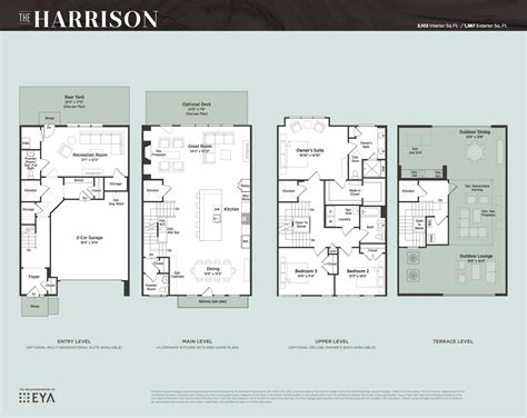 luxury townhomes floor plans luxury townhomes floor plans