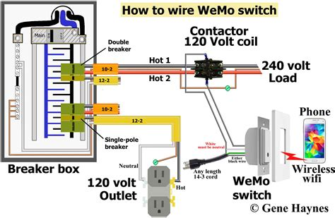 28 wiring diagram for 120 volt light switch