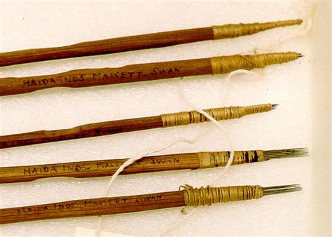 tattoo needle history haida tattoo kit from 1883 massett queen charlottes