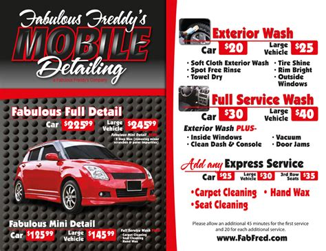 mobile wash fabulous mobile car wash and detailing fabulous freddy s 702 933 5374