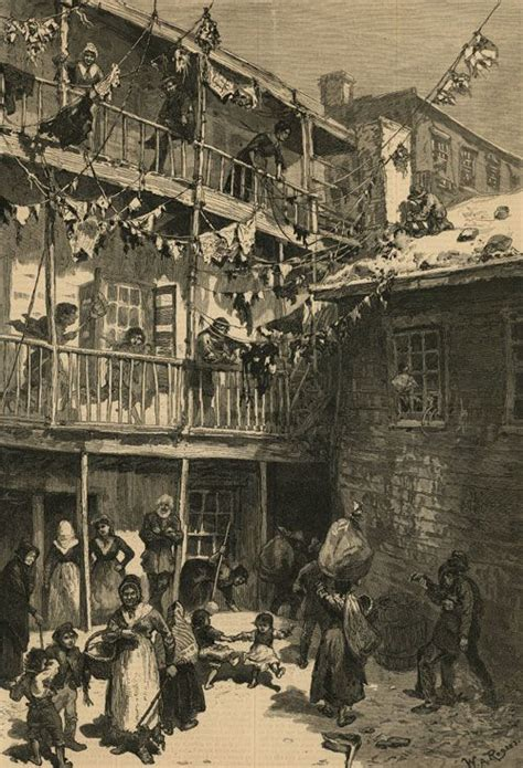 tenement houses an extreme exle of the poorer class of tenement house quot tenement life in new york