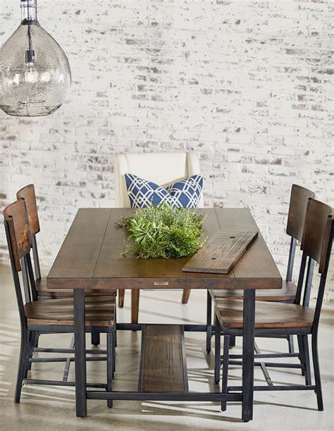 magnolia home framework dining table planter industrial dining room houston star furniture