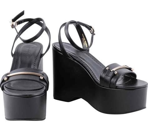 Charles N Keith Wedges charles and keith black ankle wedges