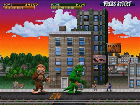 Mobile Home Plans by Classic Giant Monster Game Rampage Will Get Its Own Movie
