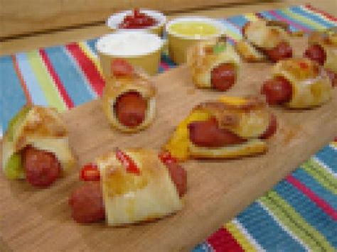 Pigs In Blankets Cooking Time by Stuffed Pigs In The Blanket Recipe George Duran Food