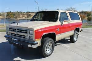 purchase used 1988 chevrolet k5 blazer in amarillo