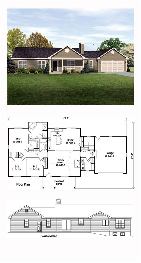 back porch building plans one story house plans with front and back porch luxamcc