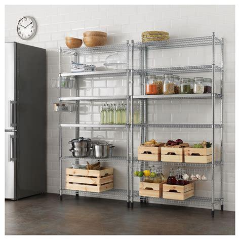 omar 2 shelf sections 197x36x181 cm ikea