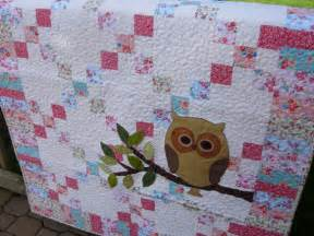 remember whooo you baby owl quilt baby quilt owl