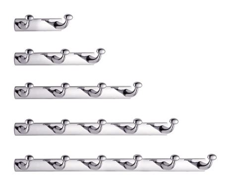 Bathroom Towel Hooks Chrome New Bathroom Robe And Towel Rail Bar Rack By Bathroom