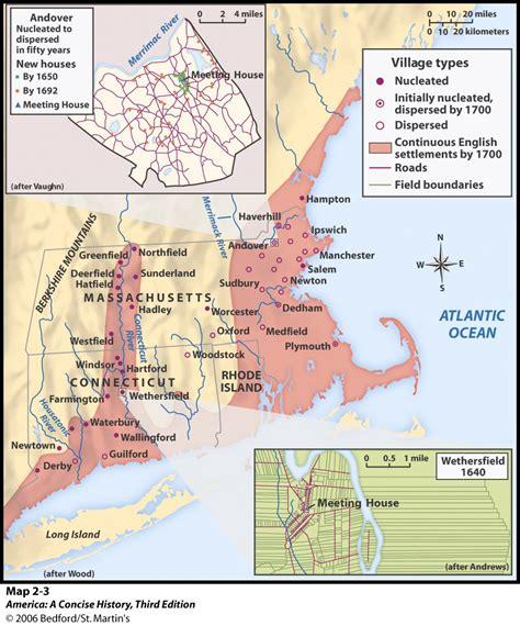 patterns of english settlement unit 2 maps images charts