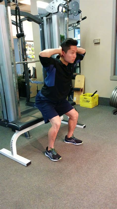 squat on bench leg essentials squats personal trainer vancouver