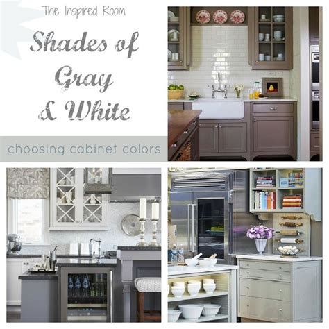 picking kitchen cabinet colors shades of neutral gray white kitchens choosing