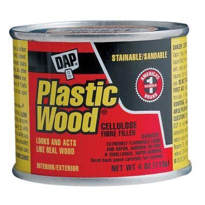 dap 4 oz white plastic wood solvent wood filler 21412