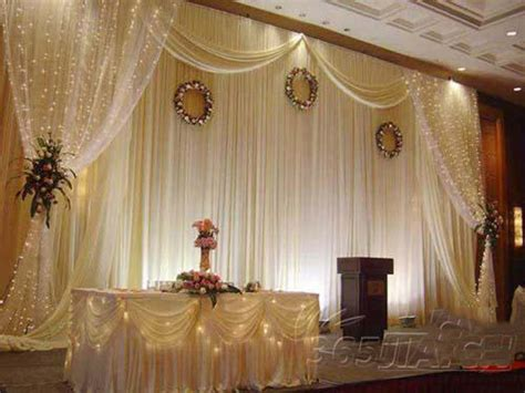 Wedding Decoration Curtains Aliexpress Buy Wedding Backdrop Luxurious Wedding Supplies Decorations Wedding White Stage