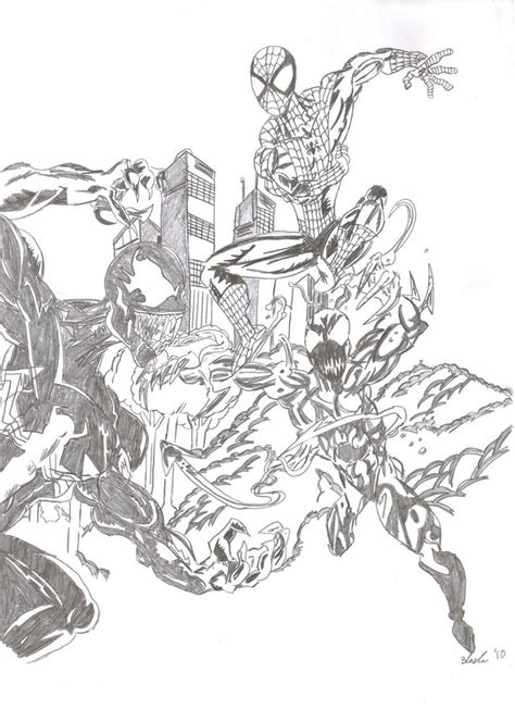Venom Printable Coloring Pages Bestofcoloring Com Carnage Coloring Pages