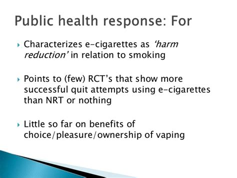 Harm Reduction Is More Successful Than The Suffering In Detox by E Cigarette Policy And Regulation Uk Vapers Perspectives