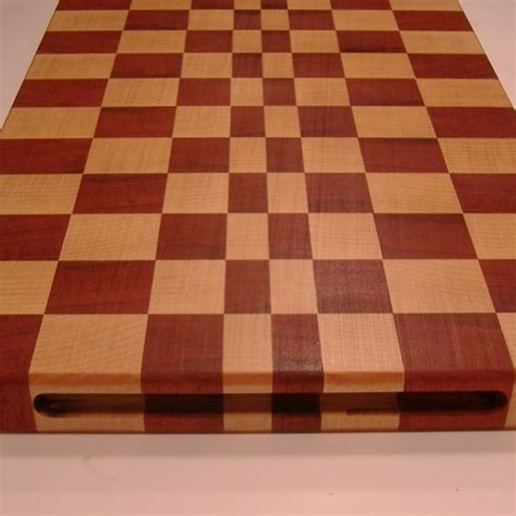 Handmade Butcher Block - custom made butcher block end grain cutting boards by