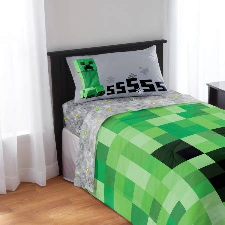 minecraft bedding set minecraft bedding sheet set twin best futon and review