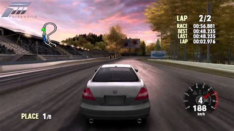 forza motorsport   honda accord coupe  maple