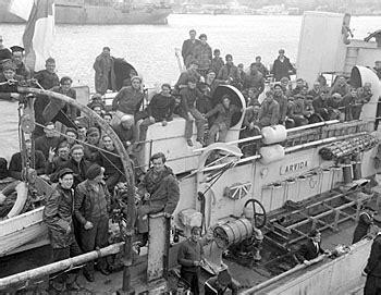 boat crash captains quarters bataille de l atlantique l encyclop 233 die canadienne