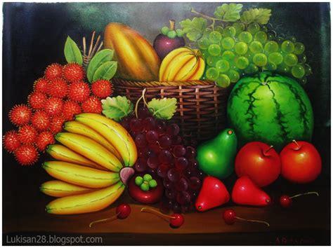 Lukisan Bunga Buah pusat jual lukisan termurah lukisan buah buahan