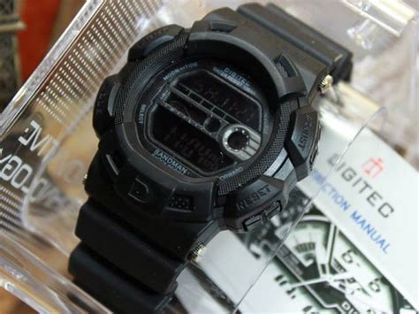 Digitec Digital Black Original jual jam tangan digitec dg2087 original