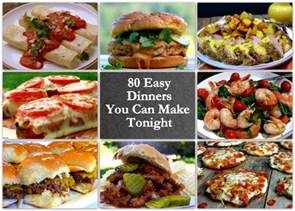 80 easy dinners you can make tonight noble pig