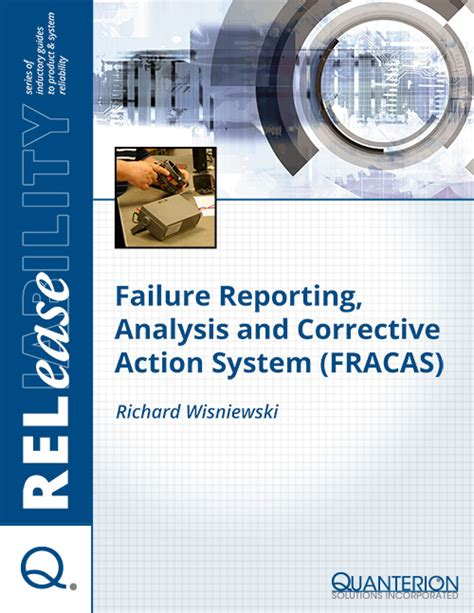 Failure Reporting And Corrective System Template Failure Reporting Analysis And Corrective System