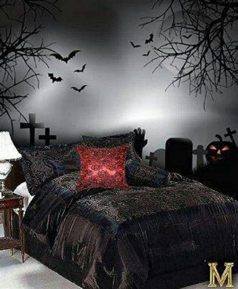 gothic bedrooms goth bedroom living in dark spaces pinterest