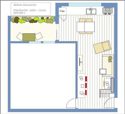 decorar cocina en l cocina salon comedor tres ambientes en 30 metros cuadrados
