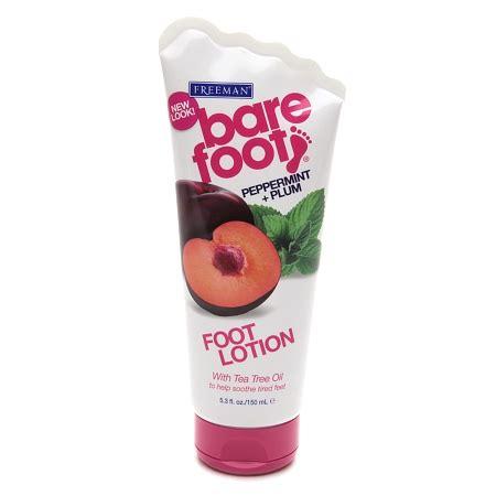 foot lotion freeman bare foot softening foot lotion invigorating