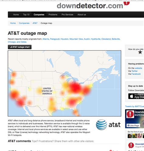 att outage map common sense journalism at t s outage shows how