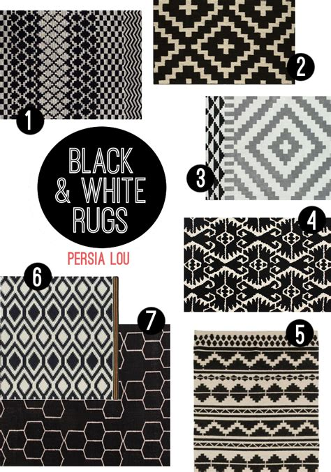 Black White And Rug by Favorite Rugs