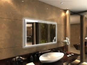 wandspiegel mit beleuchtung badspiegel mit led beleuchtung minos badspiegel de