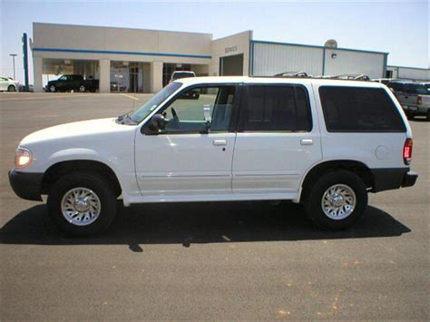 1999 ford explorer information 1999 ford explorer information and photos zombiedrive