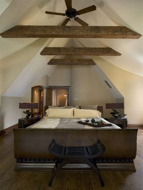 bright attic bedroom ideas  glowing interior slanted