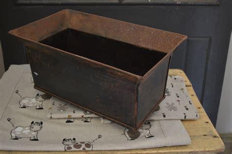 Tin Planter Box by Tin Planter Box Stalking Cat Antiques Macedon