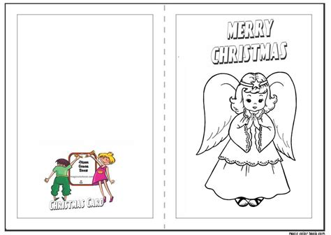 printable christmas cards in color printable christmas cards to color halloween holidays