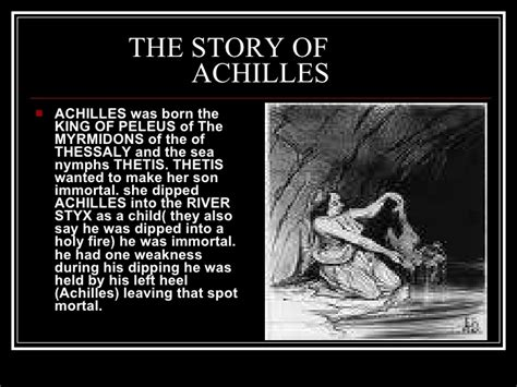 the story of the the story of achilles